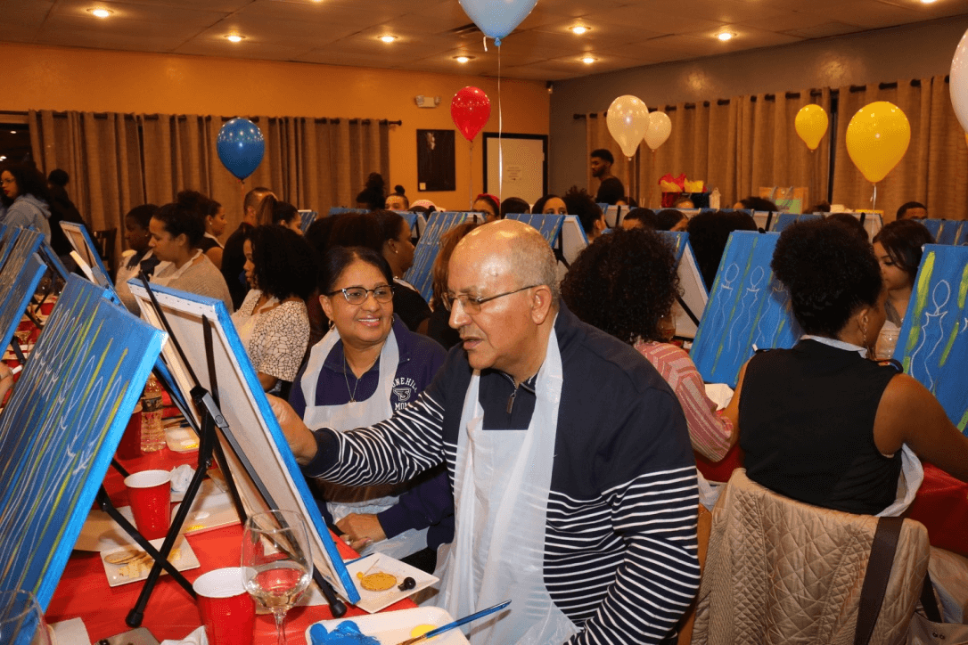 Cabo Verdean Women's Paint Night